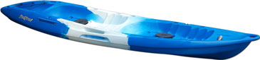 Blue/White/Blue (Saphire) Feelfree Gemini Sport tandem sit on top kayak