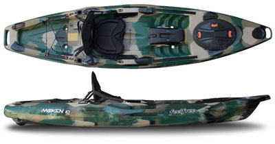 Feelfree Moken 10 Lite Angler sit on top fishing kayak