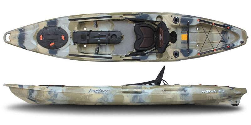 Feelfree Moken 12.5 Angler Sit On Top Fishing Kayak