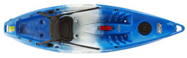 Blue/White/Blue (Saphire) Feelfree Move sit on top kayak