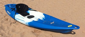 Feelfree Nomad Sport sit on top kayak at the beach