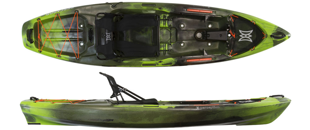 Perception Pescador Pro 10 sit on top fishing kayak