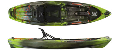 Perception Pescador sit on top kayak